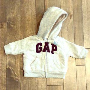 NWT Baby Gap Zip Hoodie